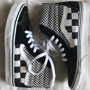 Vans Checkered High Tops